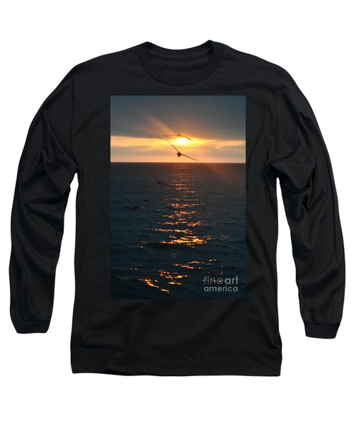 ...and At The End Of The Day... Long Sleeve T-Shirt by Valerie Rosen