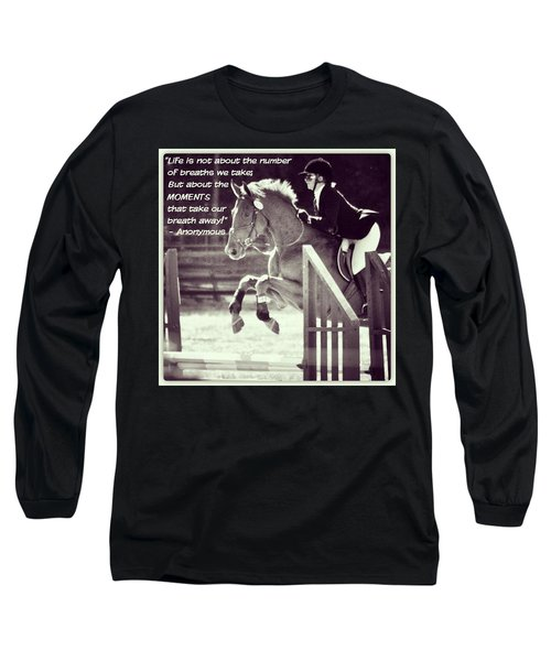 Andy And Chrissy Caber Farm Horse Long Sleeve T-Shirt