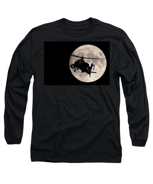 Apache In The Moonlight Long Sleeve T-Shirt