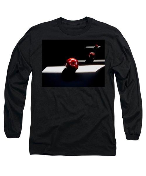 Apple Still Life 1 Long Sleeve T-Shirt by Cedric Hampton