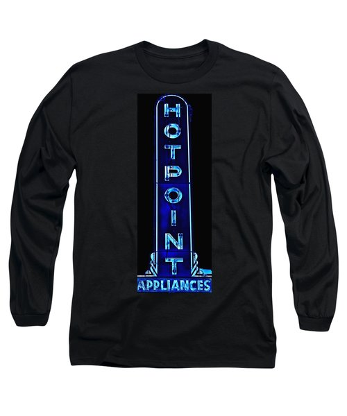 Appliance Sign Long Sleeve T-Shirt