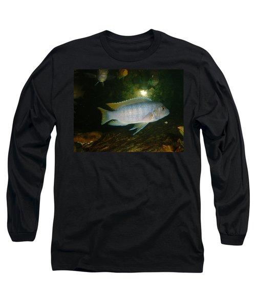 Long Sleeve T-Shirt featuring the photograph Aquarium Life by Bonfire Photography
