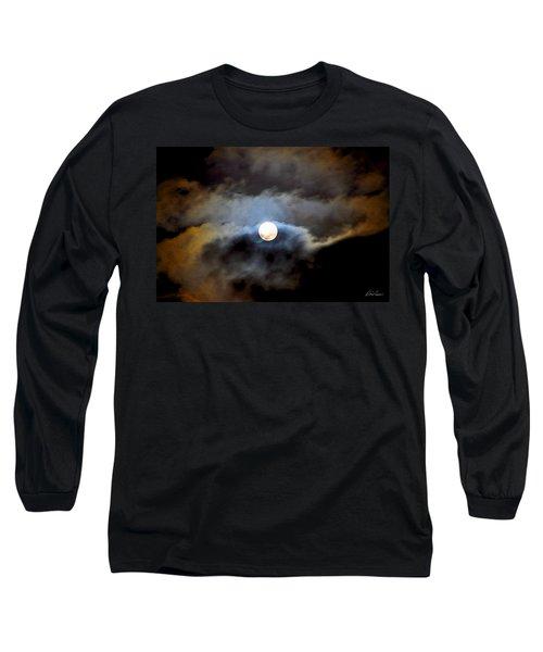 Aquarius Full Moon Long Sleeve T-Shirt