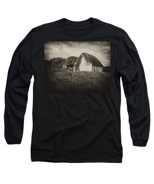 Long Sleeve T-Shirt featuring the photograph Aran Island Home by Hugh Smith