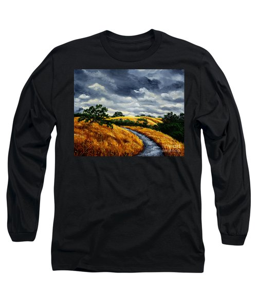 Arastradero Trail In Early Autumn Long Sleeve T-Shirt