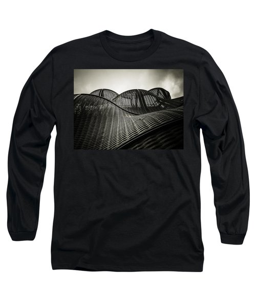 Artistic Curves Long Sleeve T-Shirt