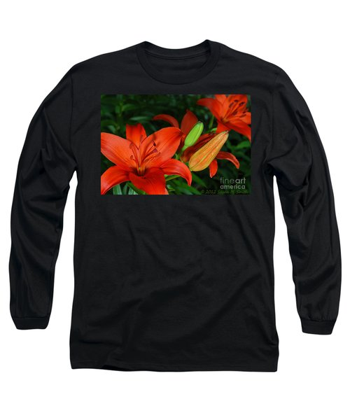 Asiatics Ablaze Long Sleeve T-Shirt