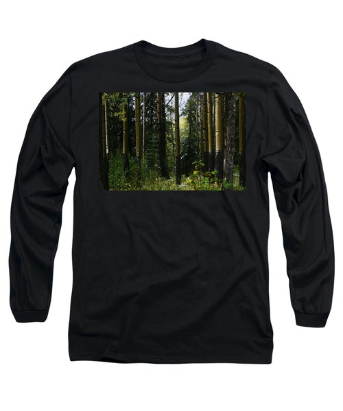 Aspens Banff National Park Long Sleeve T-Shirt