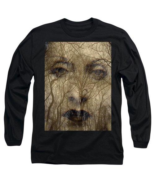 Asphalt - Portrait Of A Lady 2 Long Sleeve T-Shirt