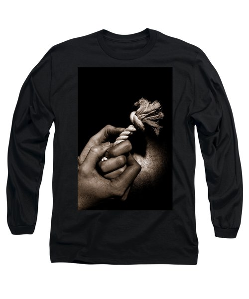 At The End Of My Rope Long Sleeve T-Shirt