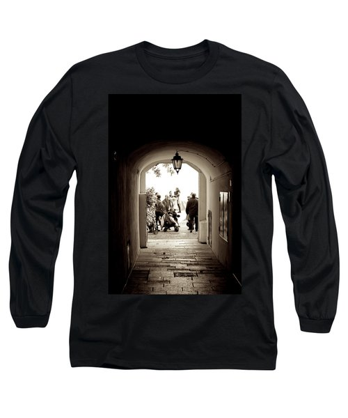 At The End Of The Tunnel Long Sleeve T-Shirt