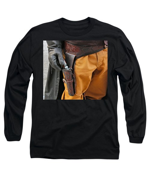 At The Ready Long Sleeve T-Shirt by Bill Owen