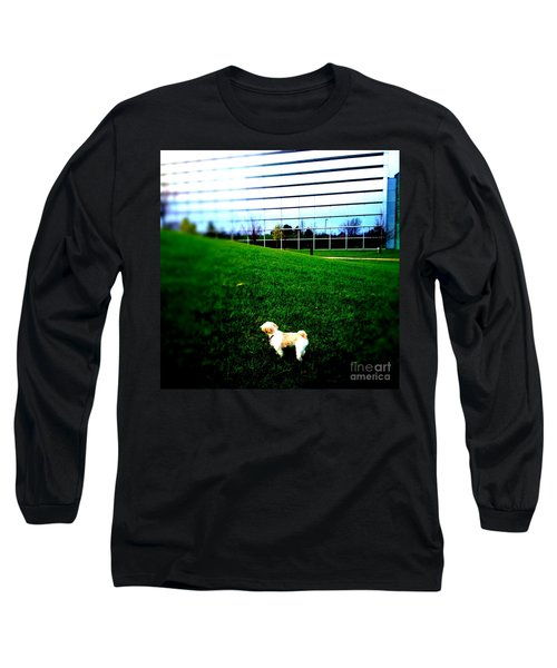 Long Sleeve T-Shirt featuring the photograph Atsuko Goes To School by Xn Tyler