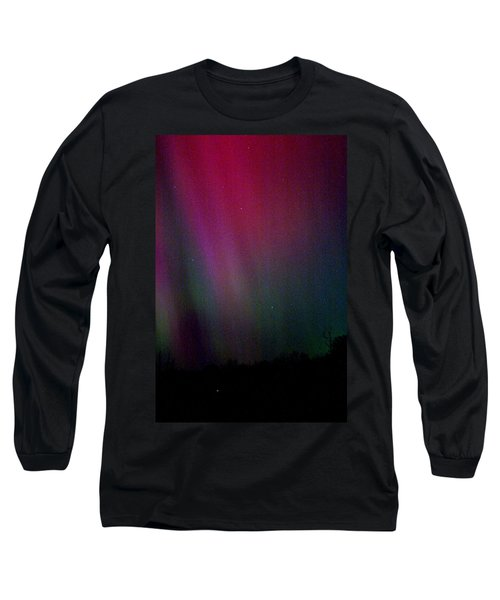 Long Sleeve T-Shirt featuring the photograph Aurora 03 by Brent L Ander