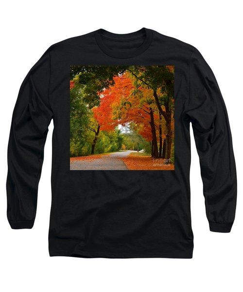 Autumn Canopy Long Sleeve T-Shirt