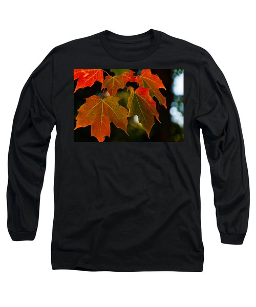 Long Sleeve T-Shirt featuring the photograph Autumn Glory by Cheryl Baxter