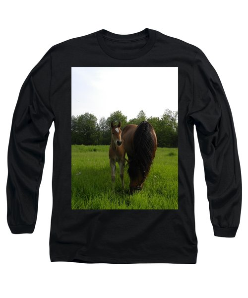 Babe With Mom Long Sleeve T-Shirt
