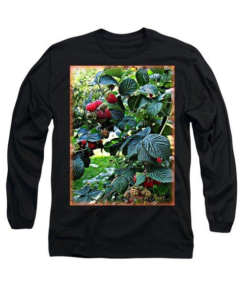 Backyard Berries Long Sleeve T-Shirt