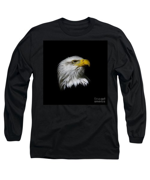 Long Sleeve T-Shirt featuring the photograph Bald Eagle by Steve McKinzie