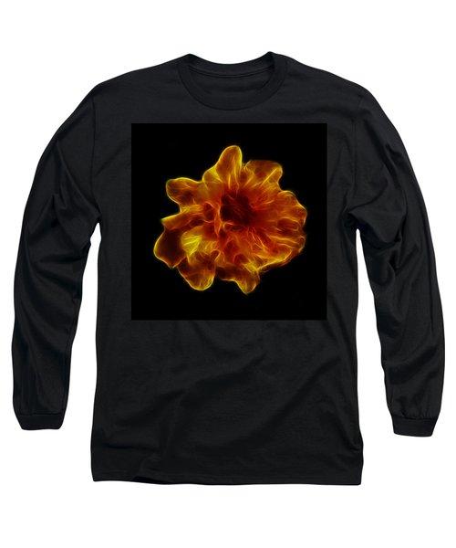 Long Sleeve T-Shirt featuring the photograph Ball Of Fire by Lynn Bolt