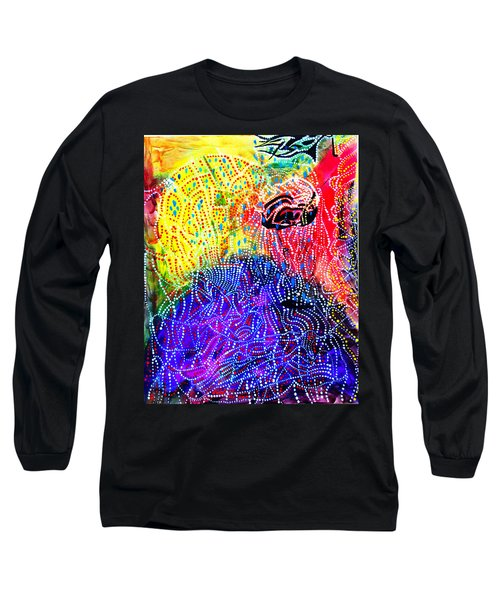 Long Sleeve T-Shirt featuring the painting Baptism Of The Lord Jesus by Gloria Ssali