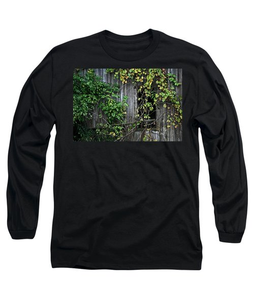 Barn Window Vine Long Sleeve T-Shirt