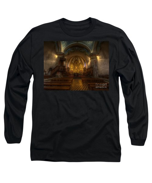 Baroque Church In Savoire France Long Sleeve T-Shirt