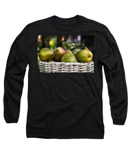 Basket Of Pears Long Sleeve T-Shirt
