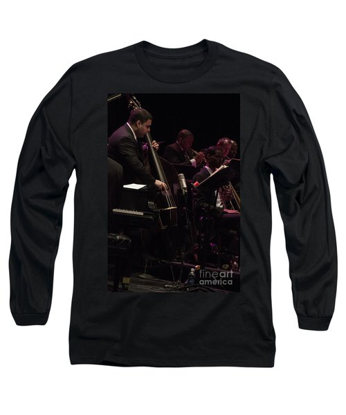 Bass Player Jams Jazz Long Sleeve T-Shirt