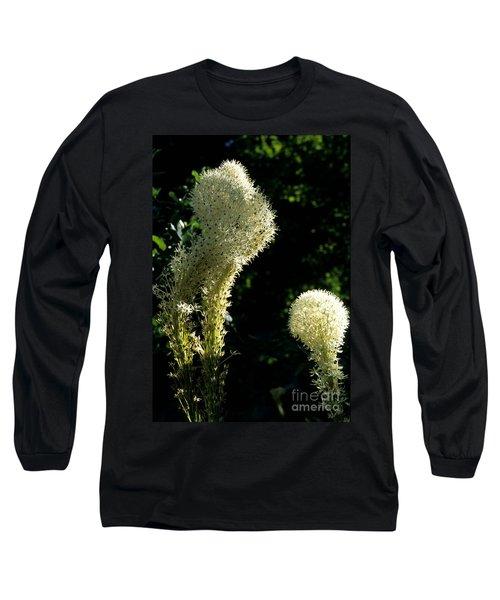 Bear-grass I Long Sleeve T-Shirt by Sharon Elliott