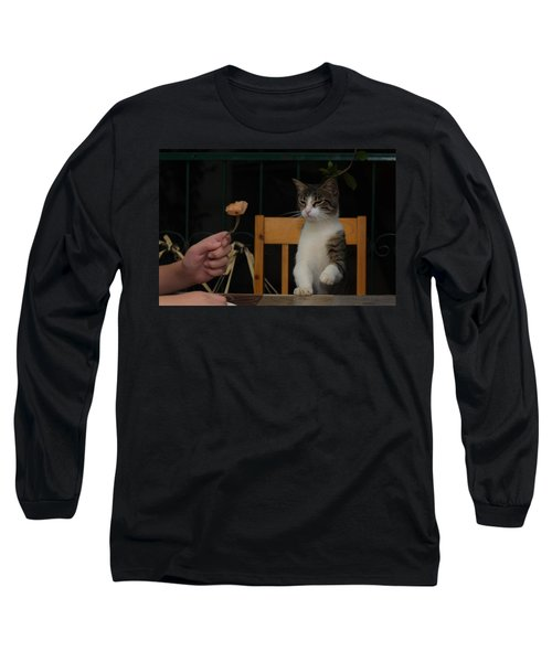 Before The Attack Long Sleeve T-Shirt