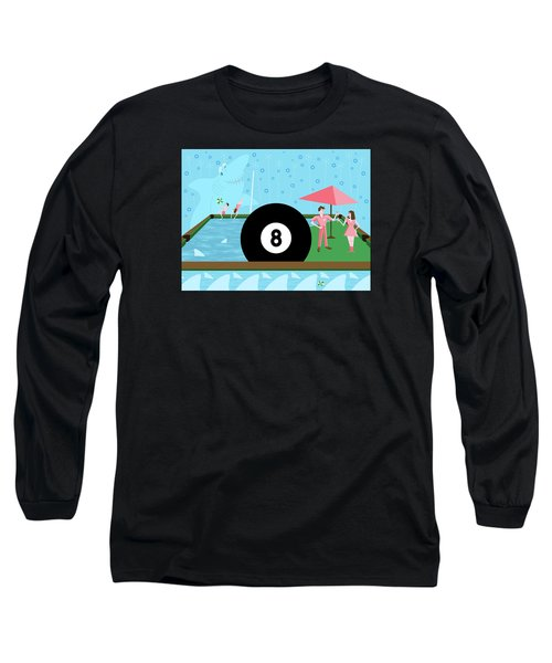 Behind The Eight Ball Long Sleeve T-Shirt