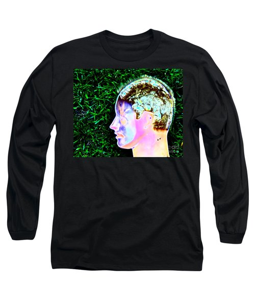 Long Sleeve T-Shirt featuring the photograph Being Of Light by Xn Tyler
