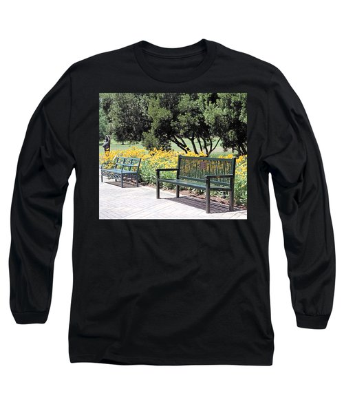 Benches  Long Sleeve T-Shirt