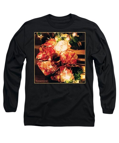 Beribboned #christmas #ribbon Long Sleeve T-Shirt