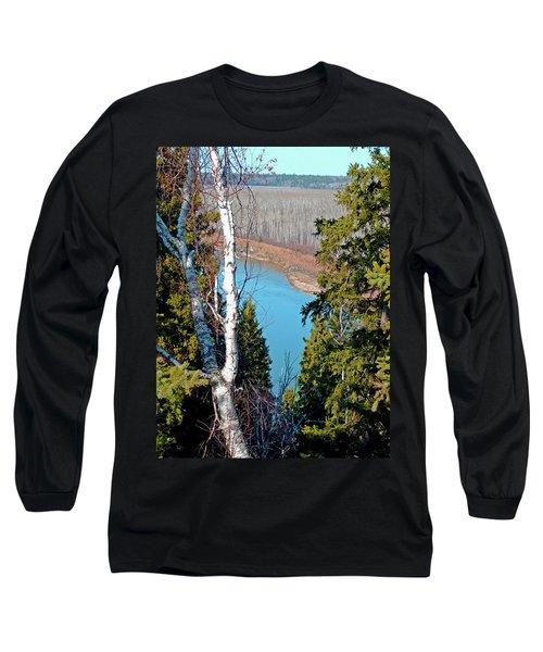 Birch Forest Long Sleeve T-Shirt