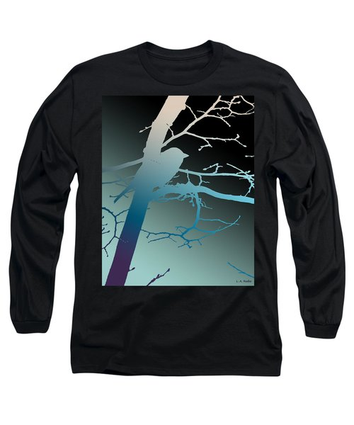Bird At Twilight Long Sleeve T-Shirt