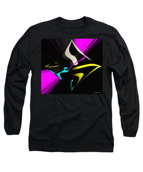 Long Sleeve T-Shirt featuring the photograph Black Diamond by George Pedro