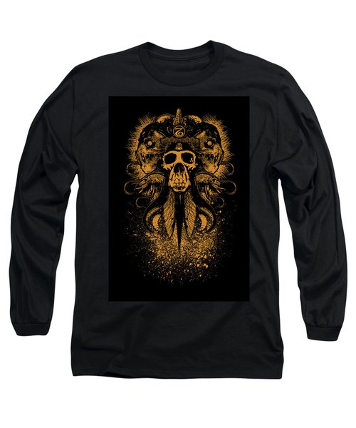 Bleed The Chimp Long Sleeve T-Shirt by Tony Koehl