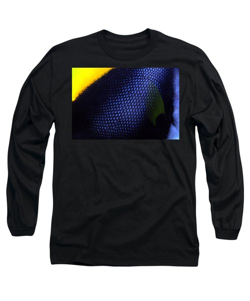 Blue And Yellow Scales Long Sleeve T-Shirt