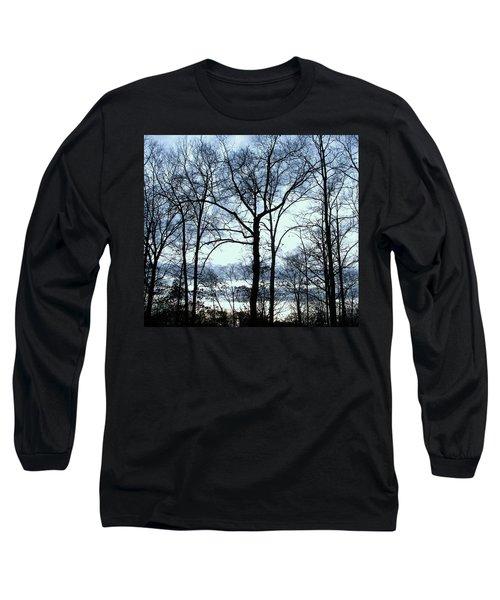Long Sleeve T-Shirt featuring the photograph Blue Mirage by Pamela Hyde Wilson