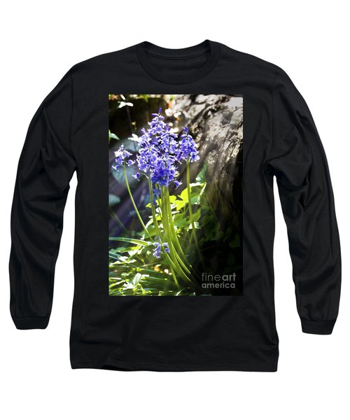 Bluebells In The Woods Long Sleeve T-Shirt