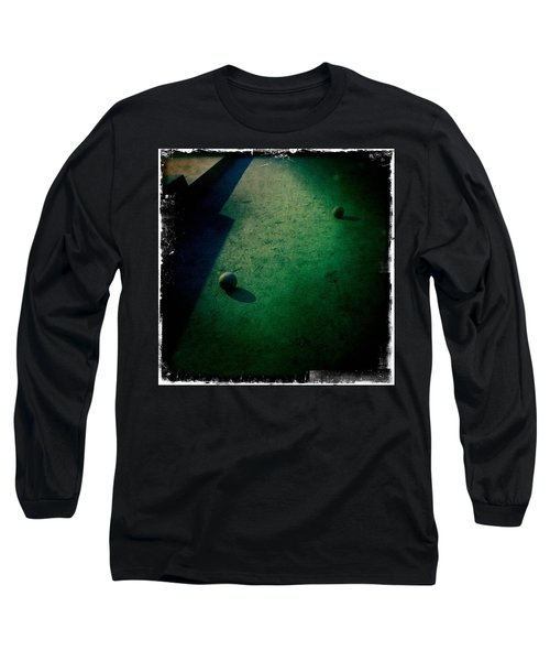 Bocce Ball Court Long Sleeve T-Shirt
