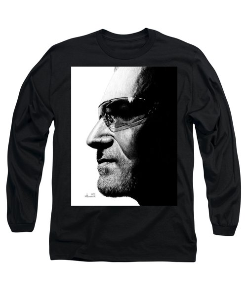 Bono - Half The Man Long Sleeve T-Shirt by Kayleigh Semeniuk