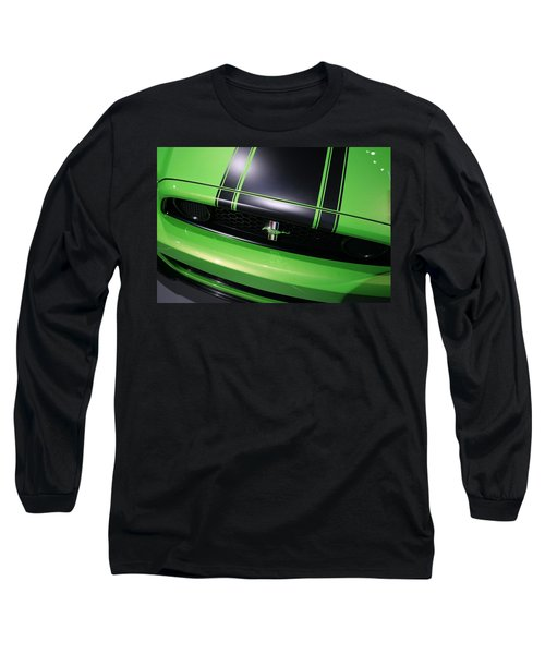 Long Sleeve T-Shirt featuring the photograph Boss 302 Ford Mustang by Gordon Dean II