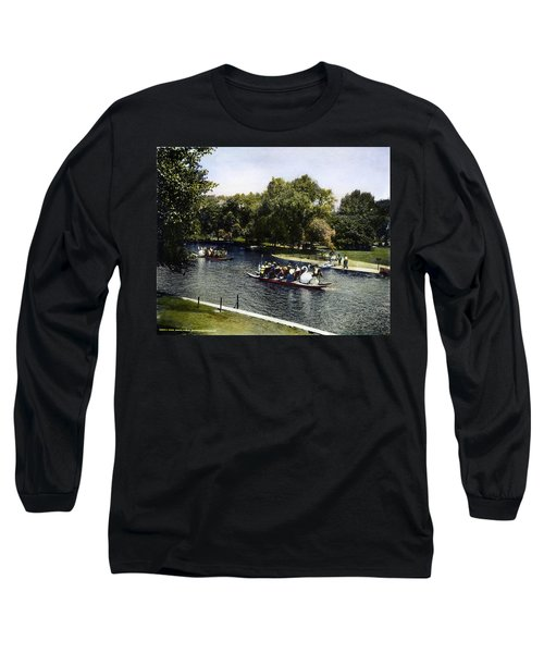 Boston: Swan Boats, C1900 Long Sleeve T-Shirt