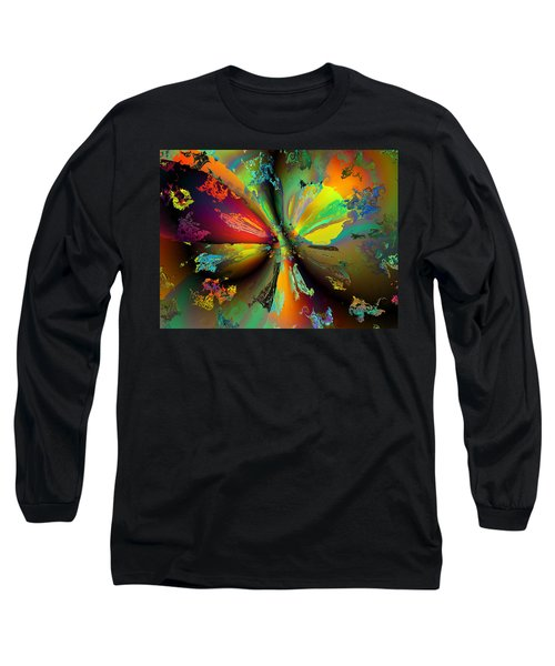 Break Away Long Sleeve T-Shirt by Claude McCoy