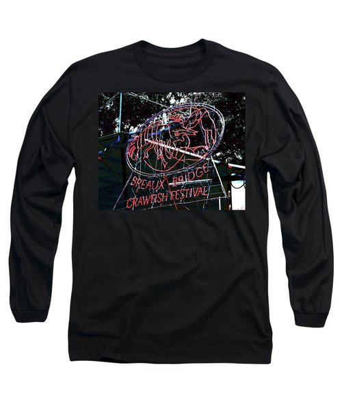 Breaux Bridge Crawfish Festival Long Sleeve T-Shirt