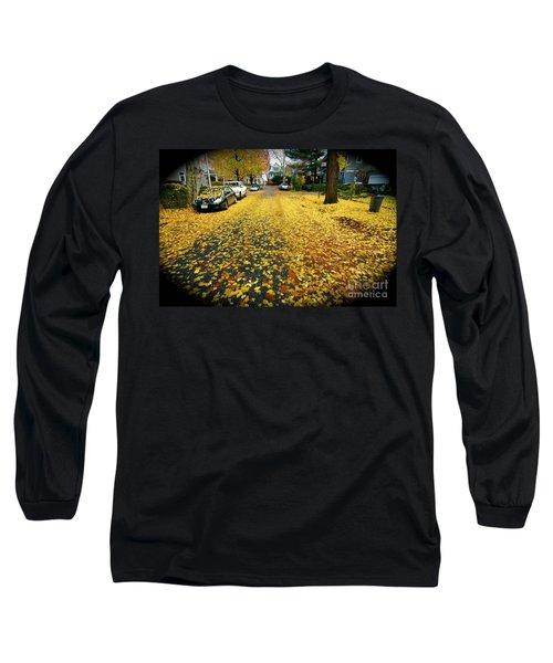 Brooklyn New York Long Sleeve T-Shirt by Mark Gilman