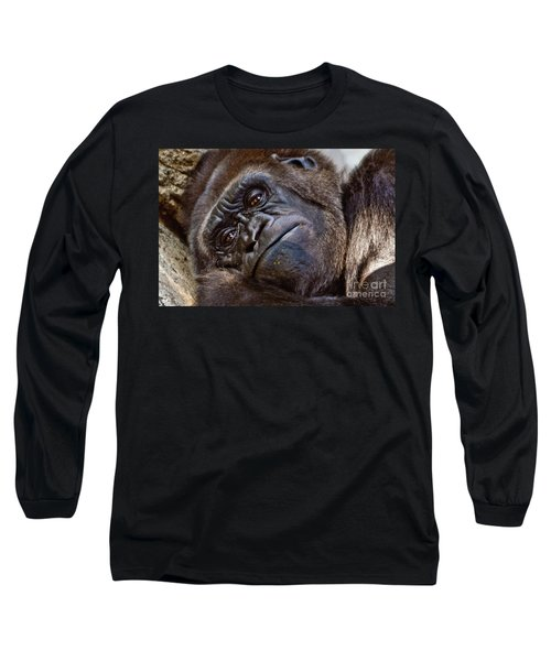 Brown Eyes Long Sleeve T-Shirt